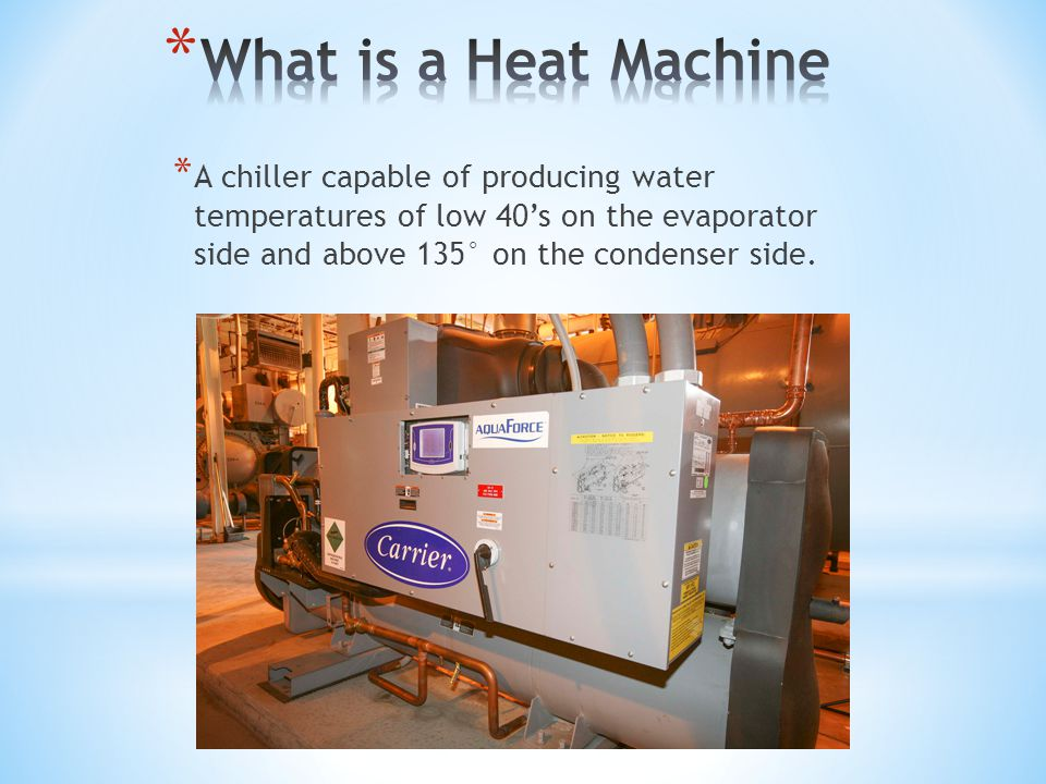 COP is the ratio of the heating or cooling provided over energy consumed * Natural Gas Boiler Combustion Efficiencies * Fire Tube Boiler – 83 to 85% * COP =.85 23