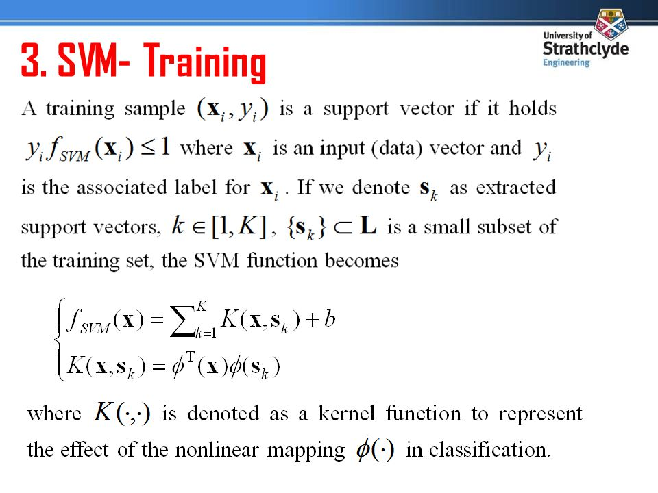 3. SVM- Training