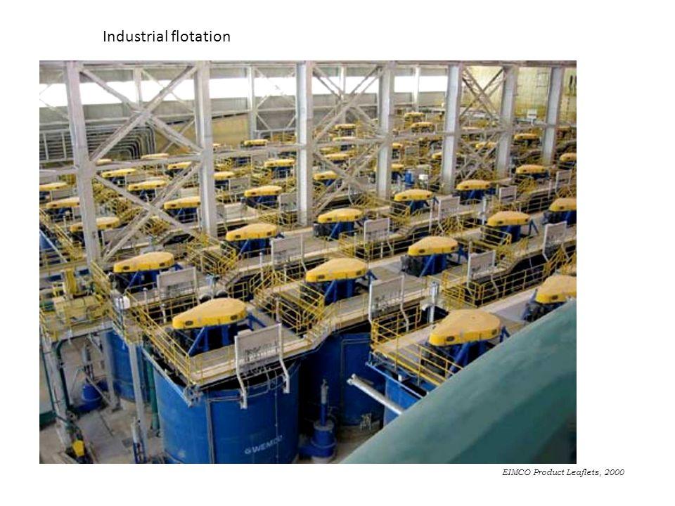 EIMCO Product Leaflets, 2000 Industrial flotation