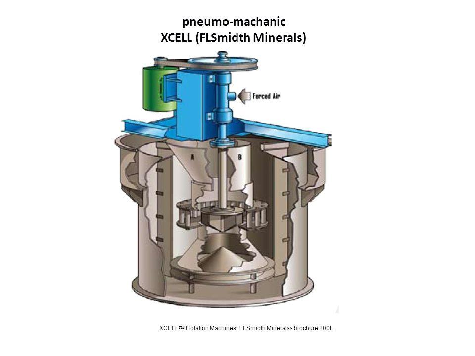pneumo-machanic XCELL (FLSmidth Minerals) XCELL Flotation Machines. FLSmidth Mineralss brochure 2008.
