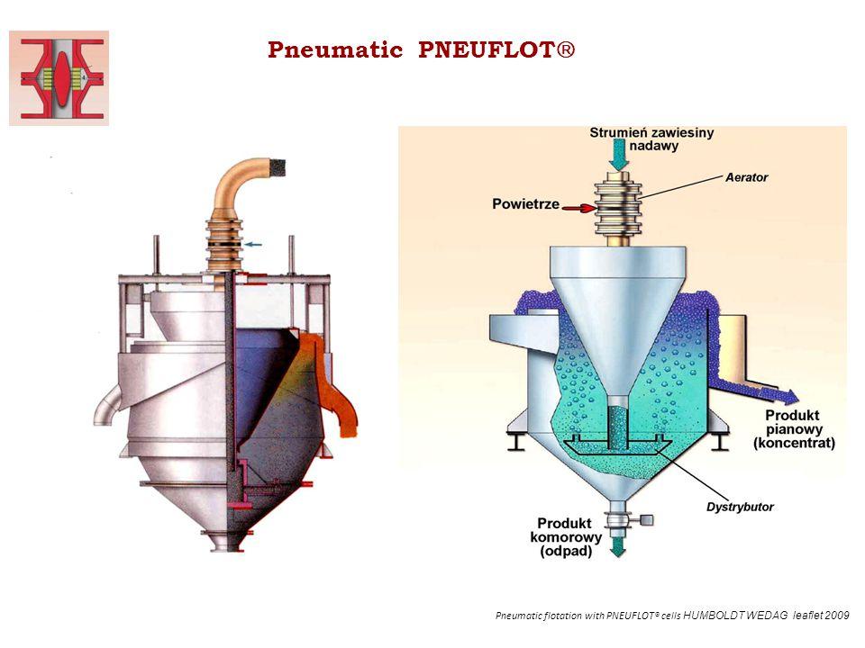 Pneumatic PNEUFLOT Pneumatic flotation with PNEUFLOT® cells HUMBOLDT WEDAG leaflet 2009