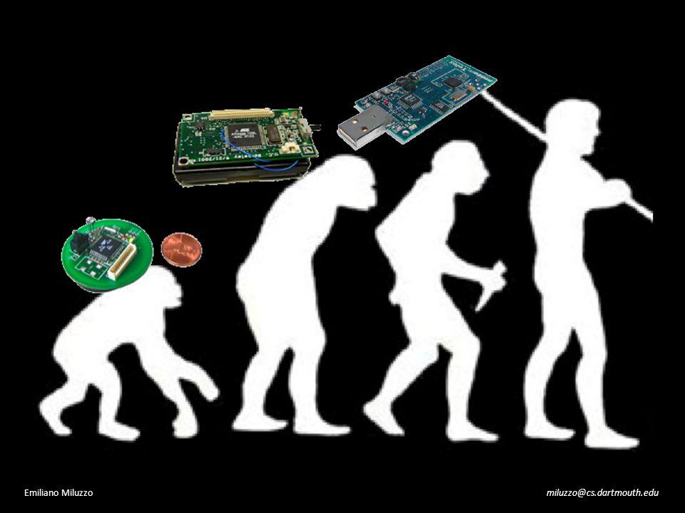 why darwin? miluzzo@cs.dartmouth.eduEmiliano Miluzzo mobile phone sensing today