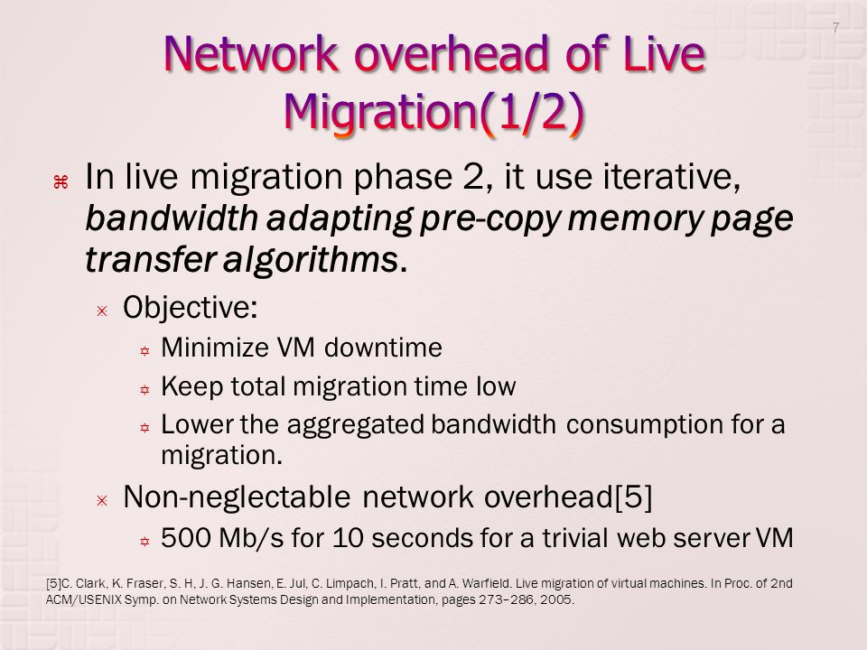 Without assumption 1: Objective Minimize the migration-related risk of network congestions with respect to bandwidth demand fluctuations.