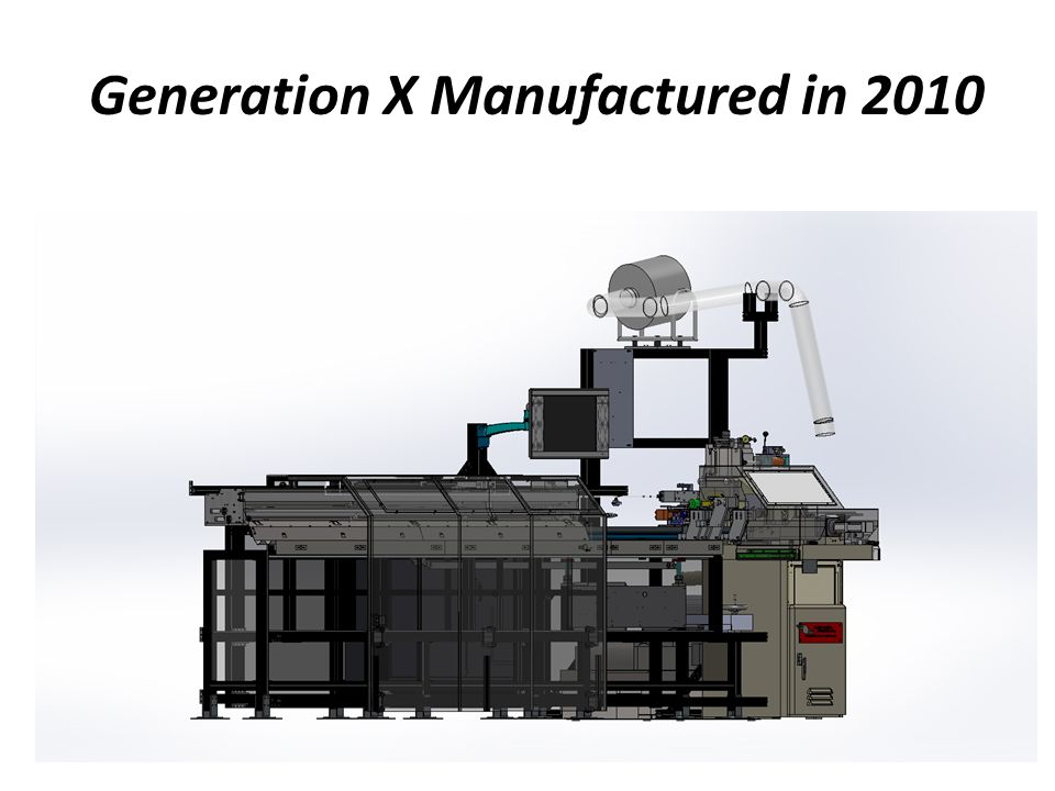 Generation X Manufactured in 2010