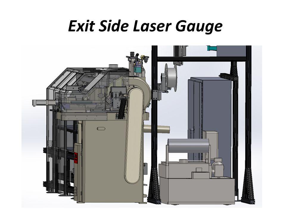 Exit Side Laser Gauge