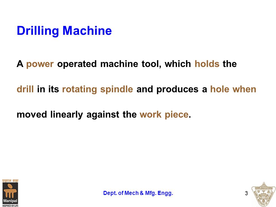 Principle of Milling The Figure 1 shows the principle of cutting action of the milling cutter.