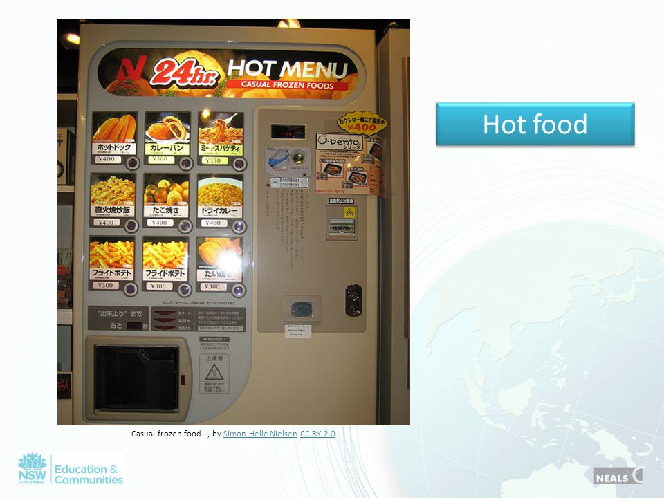 Hot food Casual frozen food..., by Simon Helle Nielsen CC BY 2.0Simon Helle NielsenCC BY 2.0