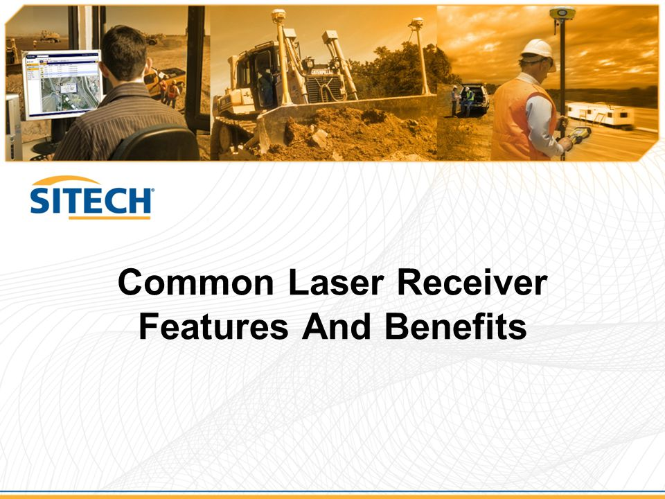 Common Laser Receiver Features And Benefits