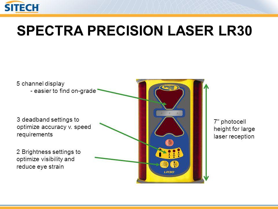SPECTRA PRECISION LASER LR30 7