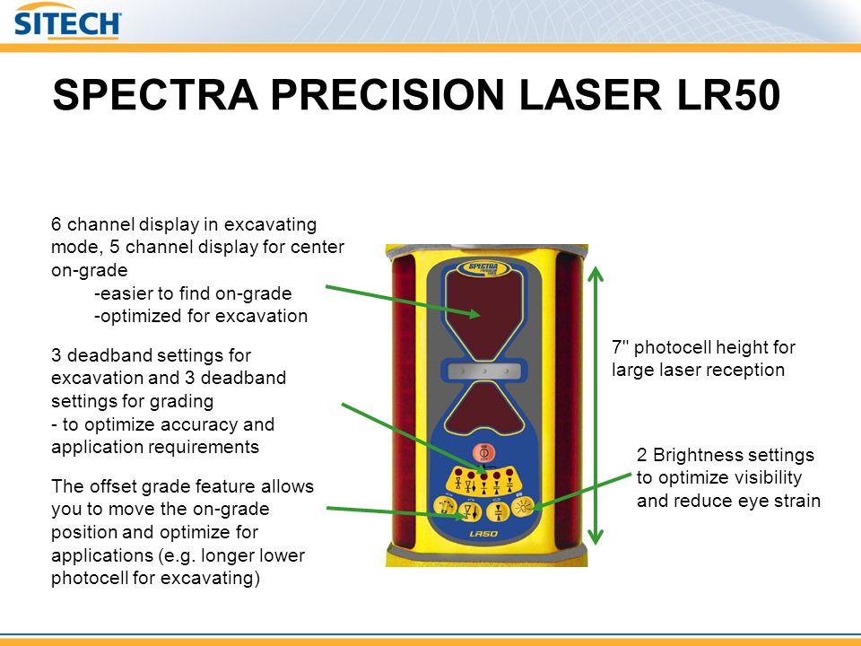 SPECTRA PRECISION LASER LR50 7