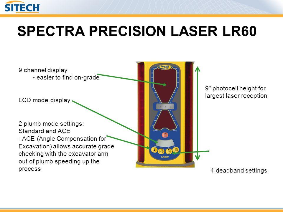 SPECTRA PRECISION LASER LR60 9