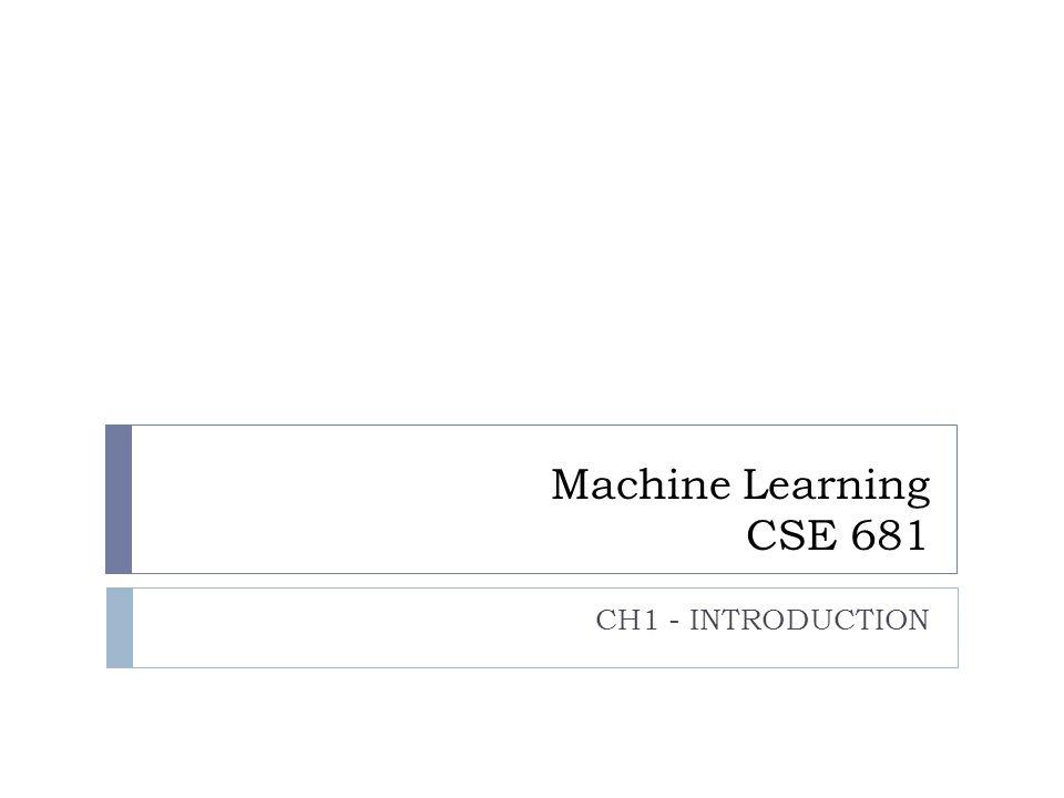 INTRODUCTION TO Machine Learning 2nd Edition ETHEM ALPAYDIN © The MIT Press, 2010 alpaydin@boun.edu.tr http://www.cmpe.boun.edu.tr/~ethem/i2ml2e Textbook: