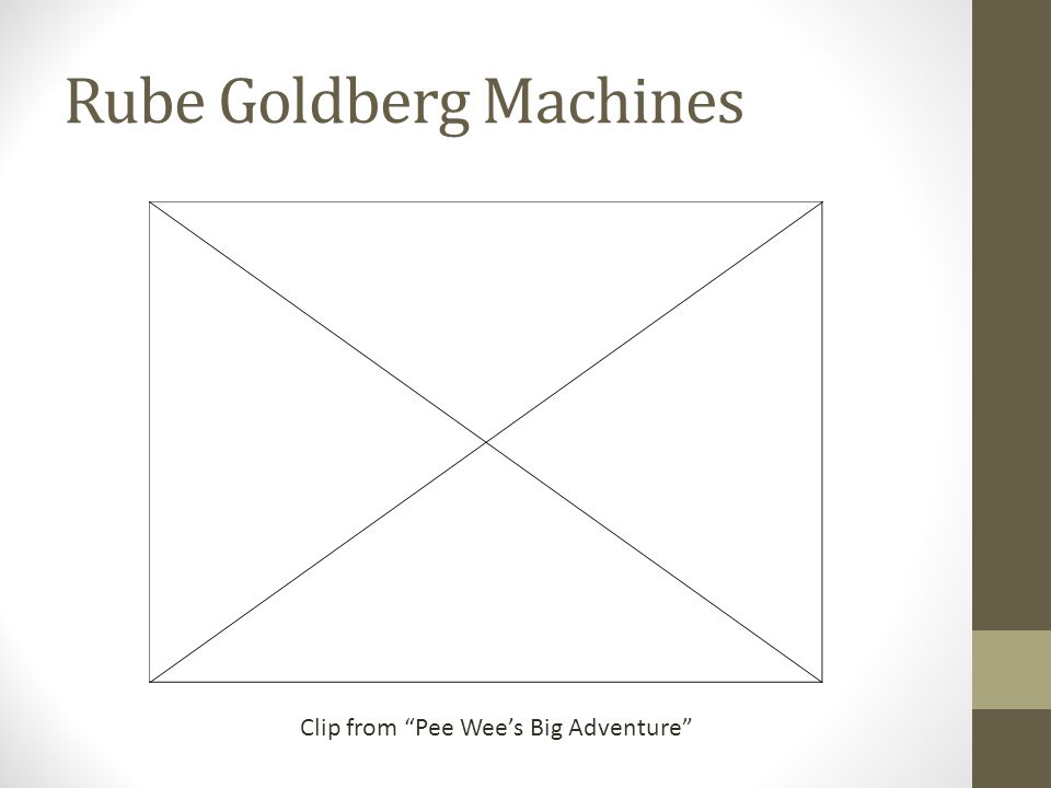 Rube Goldberg Machines Clip from Pee Wees Big Adventure