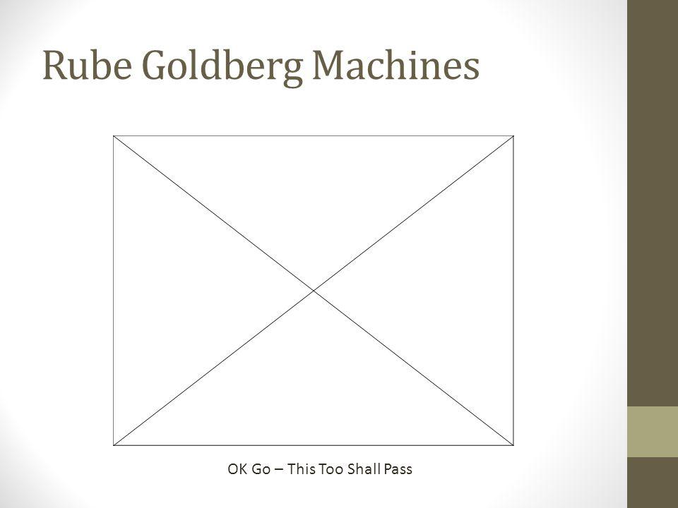 Rube Goldberg Machines OK Go – This Too Shall Pass