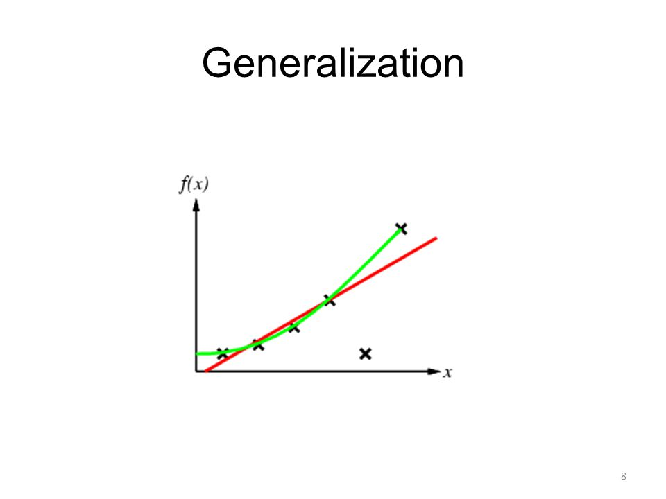 Generalization 8