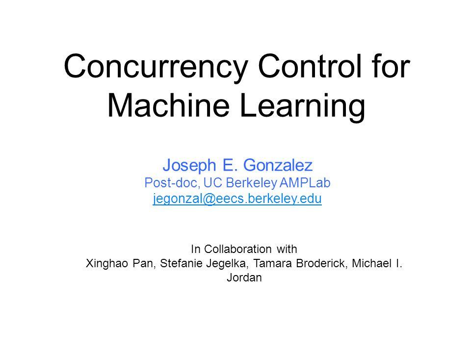 Data Model Parameters Serial Machine Learning Algorithm
