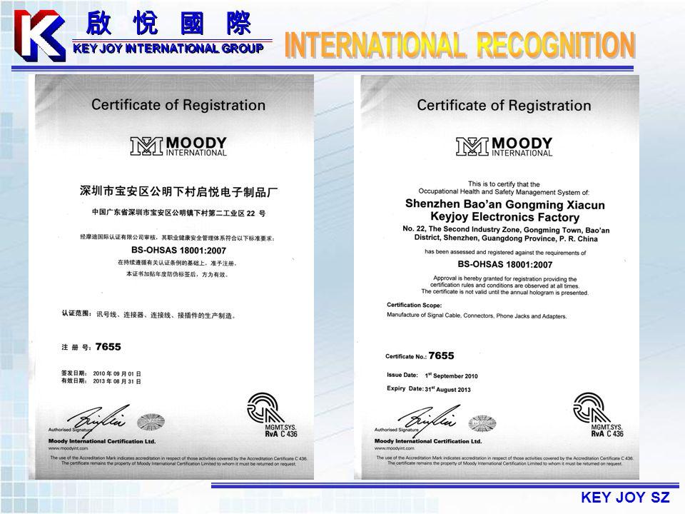 KEY JOY SZ KEY JOY INTERNATIONAL GROUP KEY JOY INTERNATIONAL GROUP