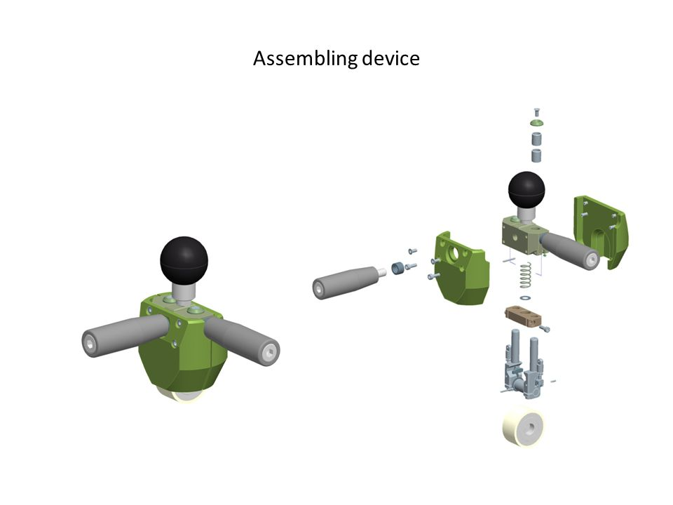 Assembling device