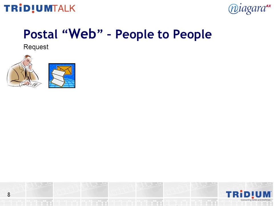 8 Postal Web – People to People Request