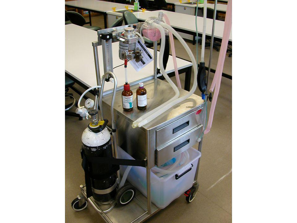 INHALATION ANAESTHESIA BREATHING SYSTEMS Damaged Bain Undetected internal leaks cause high CO 2