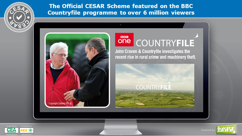 The Official CESAR Scheme featured on the BBC Countryfile programme to over 6 million viewers