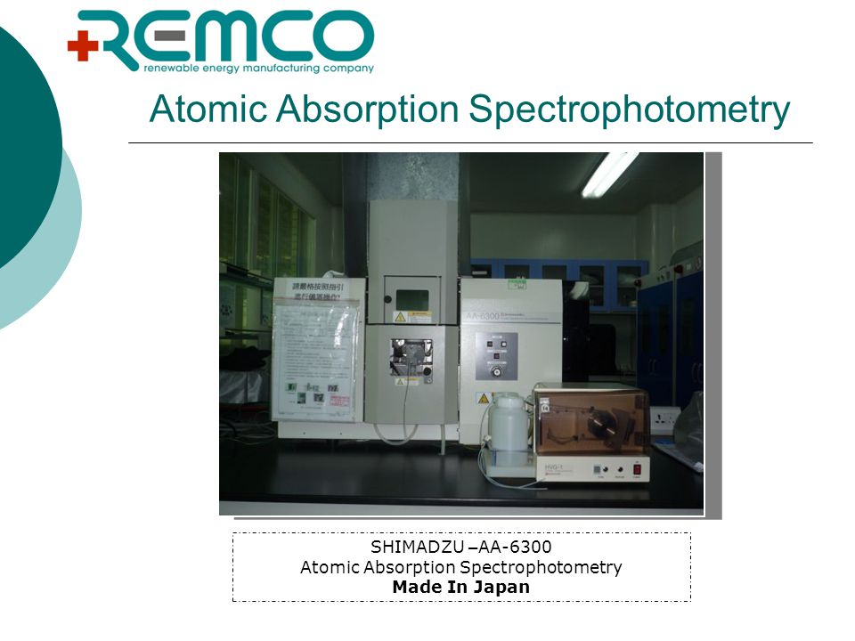 Atomic Absorption Spectrophotometry SHIMADZU – AA-6300 Atomic Absorption Spectrophotometry Made In Japan