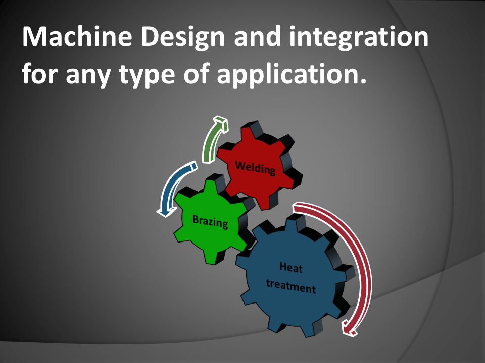 Machine Design and integration for any type of application.