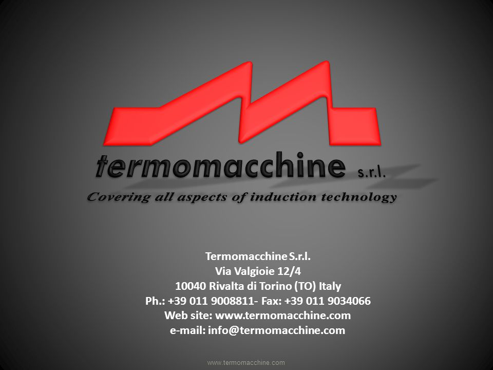 Termomacchine S.r.l.