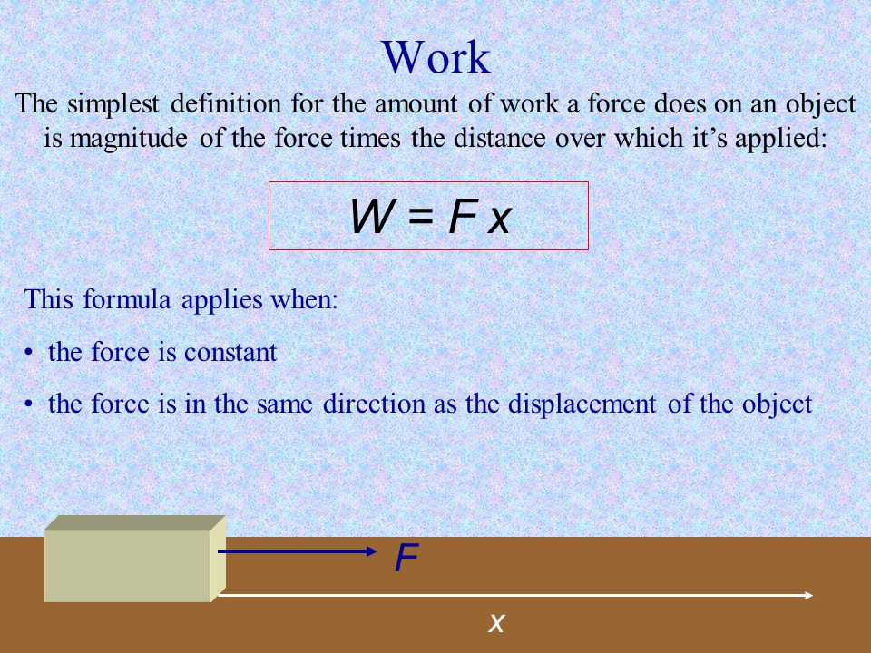Simple Machines: Force & Work By definition a machine is an apparatus that changes the magnitude or direction of a force.