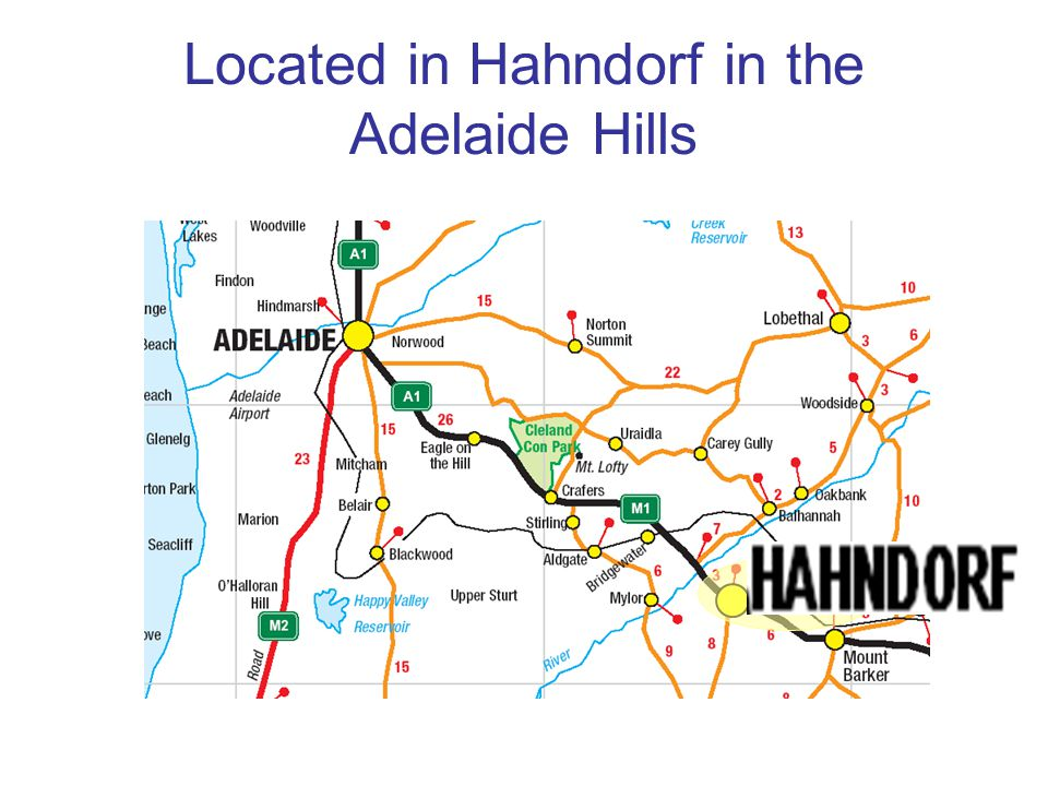 Located in Hahndorf in the Adelaide Hills