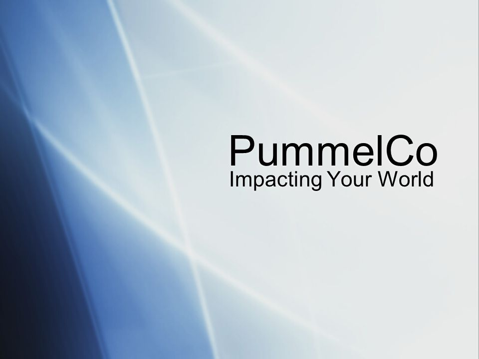 PummelCo Impacting Your World