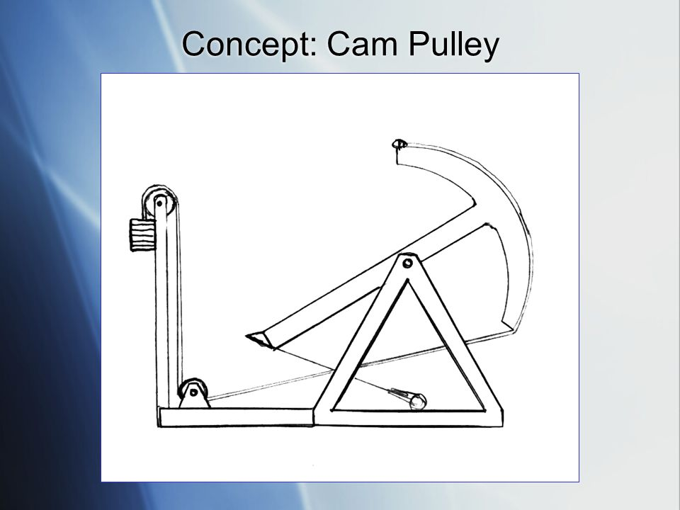 Concept: Cam Pulley