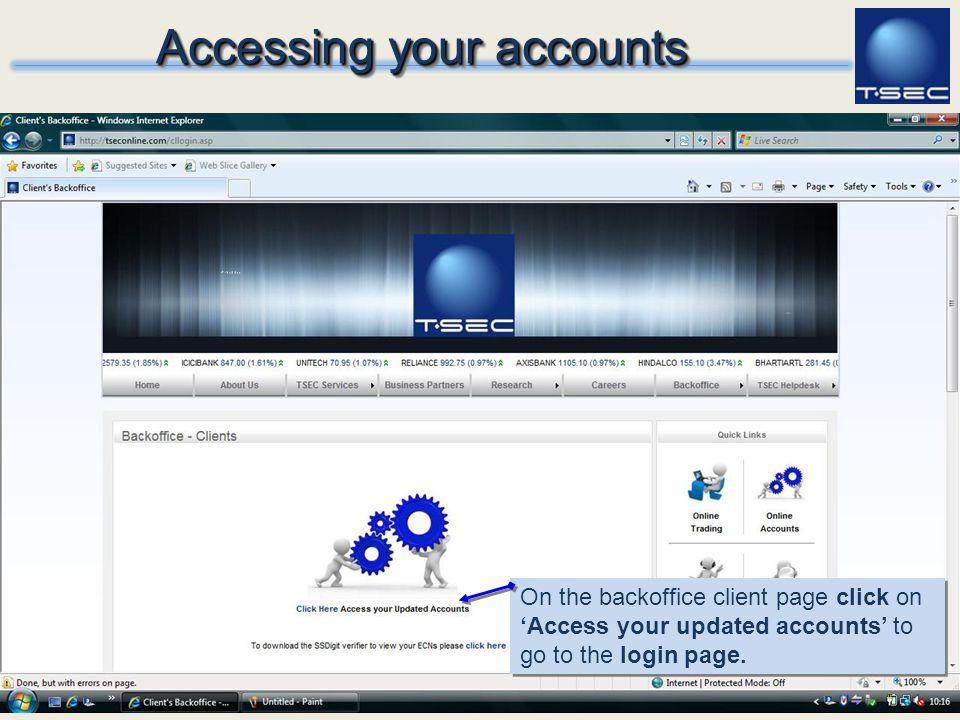 Download Java Virtual Machine Before login,please make sure that your machine has Java Virtual Machine Installed.
