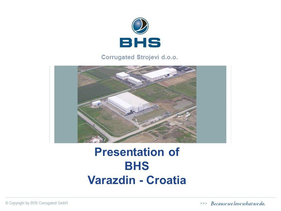 Corrugated Strojevi d.o.o. Presentation of BHS Varazdin - Croatia