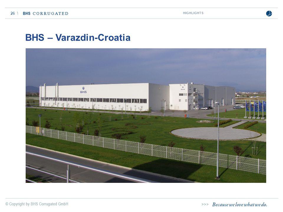 26 BHS – Varazdin-Croatia HIGHLIGHTS