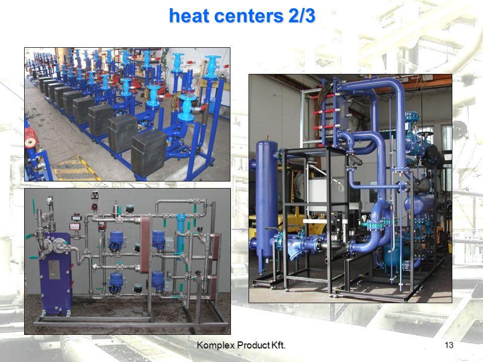 heat centers 2/3 13 Komplex Product Kft.