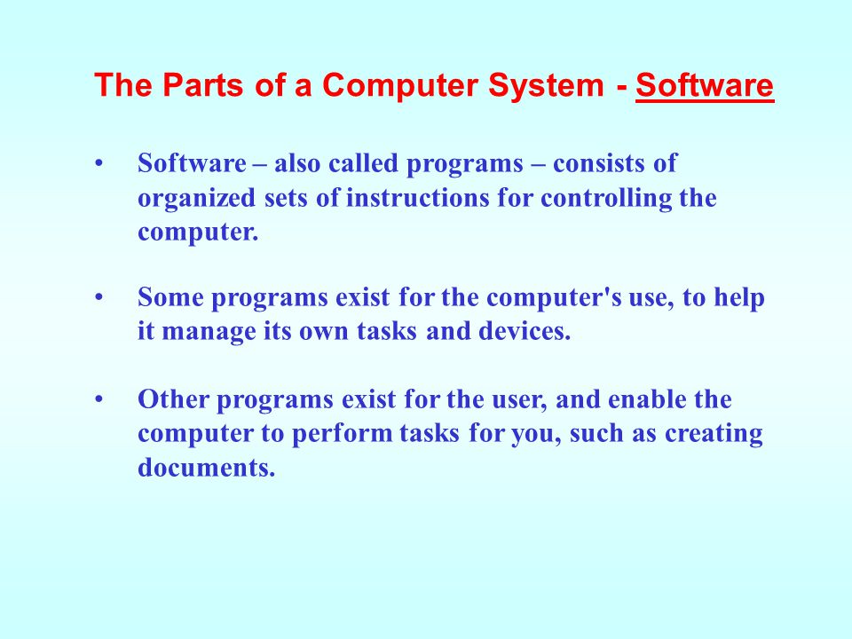 Data consists of raw facts, which the computer can manipulate and process into information that is useful to people.