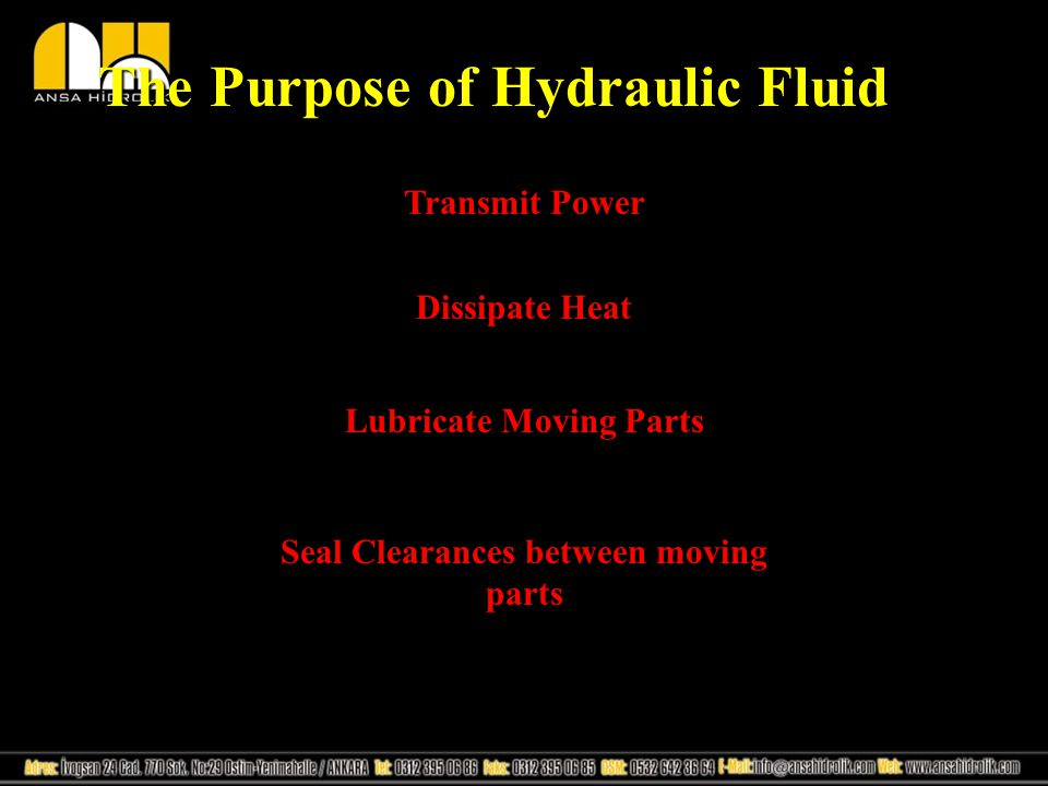 Sources of Dirt Dirt is any insoluble material circulating in a hydraulic or pneumatic system There are three main sources of dirt: 1.