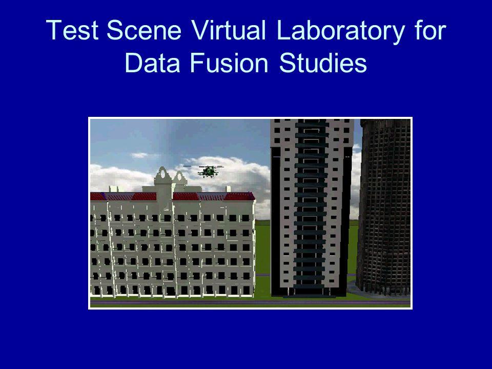 Test Scene Virtual Laboratory for Data Fusion Studies