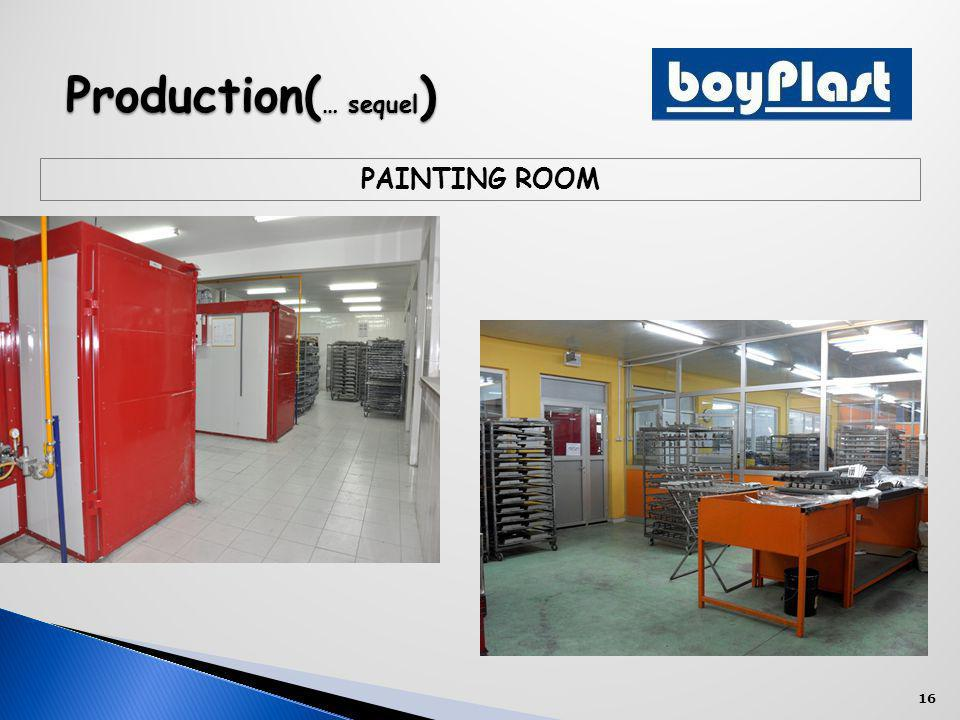 16 Production( … sequel ) PAINTING ROOM