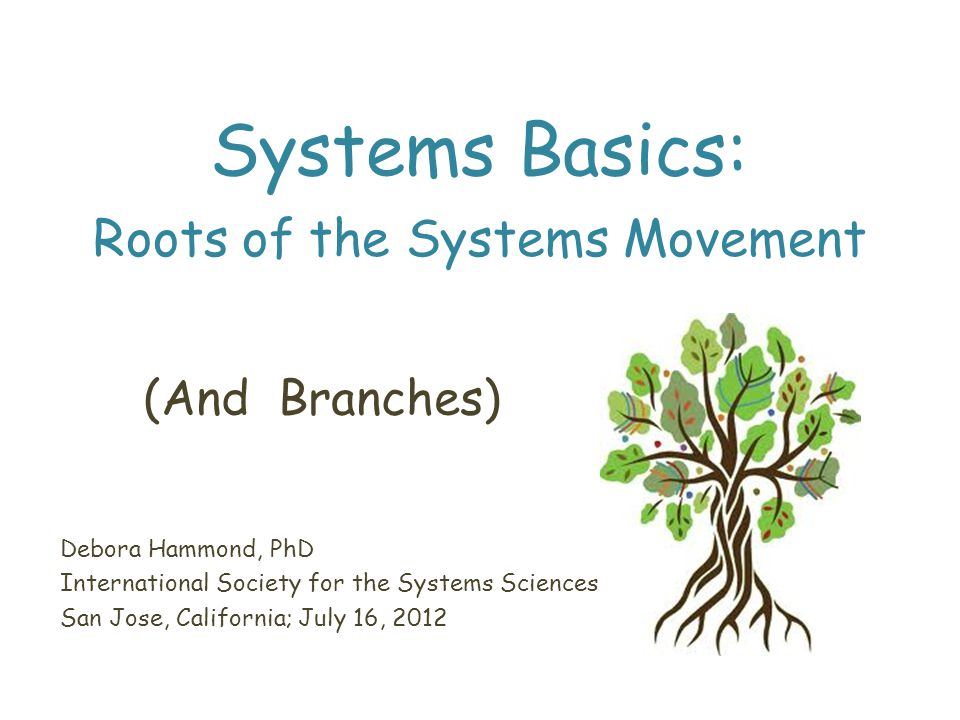 General System Theory Bertalanffy introduced the term in a seminar at the University of Chicago in 1939 Robots, Men and Minds, 1967 General Systems Theory: Foundations, Development, Applications, 1968 Inadequacy of classical physics for explanations in biology, psychology and sociology Open systems – dynamic steady state, not equilibrium Living systems as self-organizing systems Isomorphisms: universal principles applying to systems in general