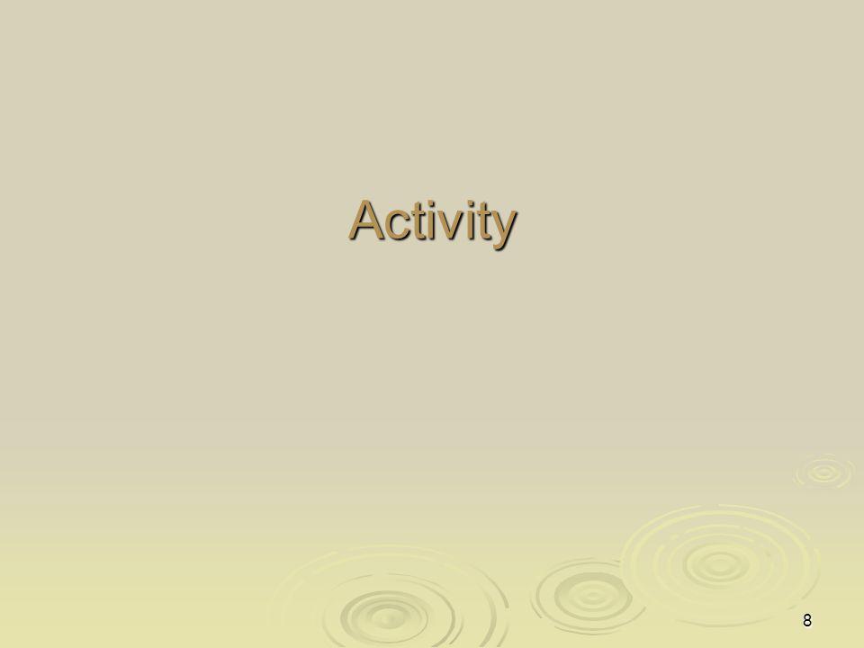 8 Activity
