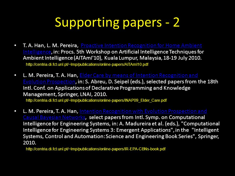 Supporting papers - 2 T. A. Han, L. M.