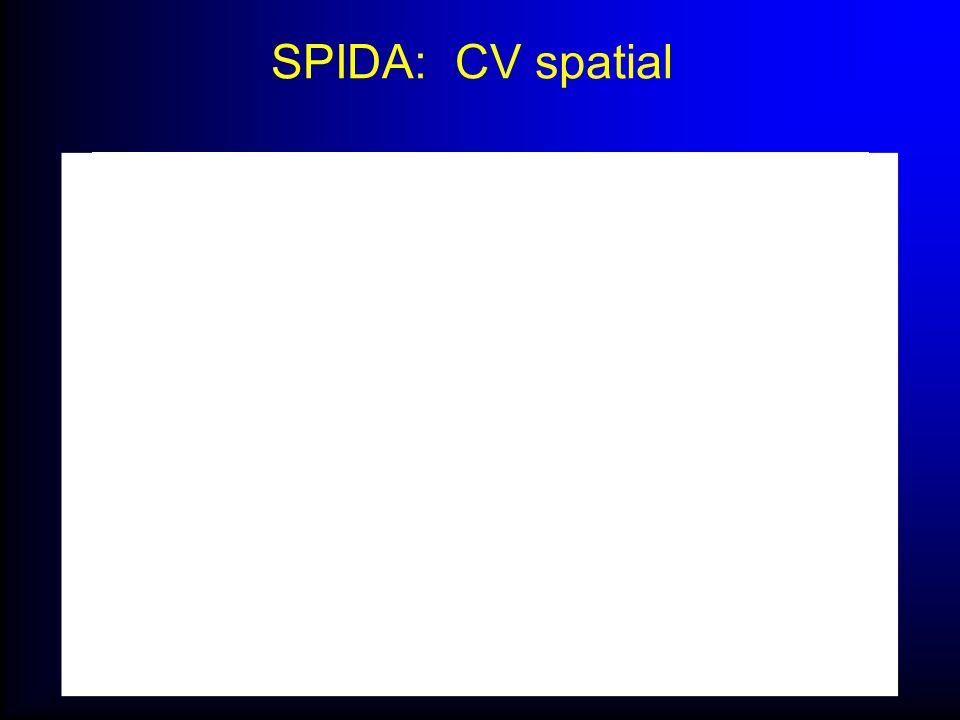 SPIDA: CV spatial
