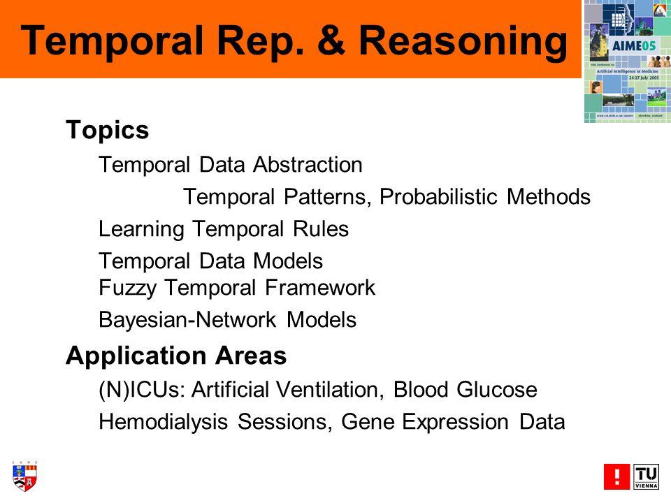 Temporal Rep.
