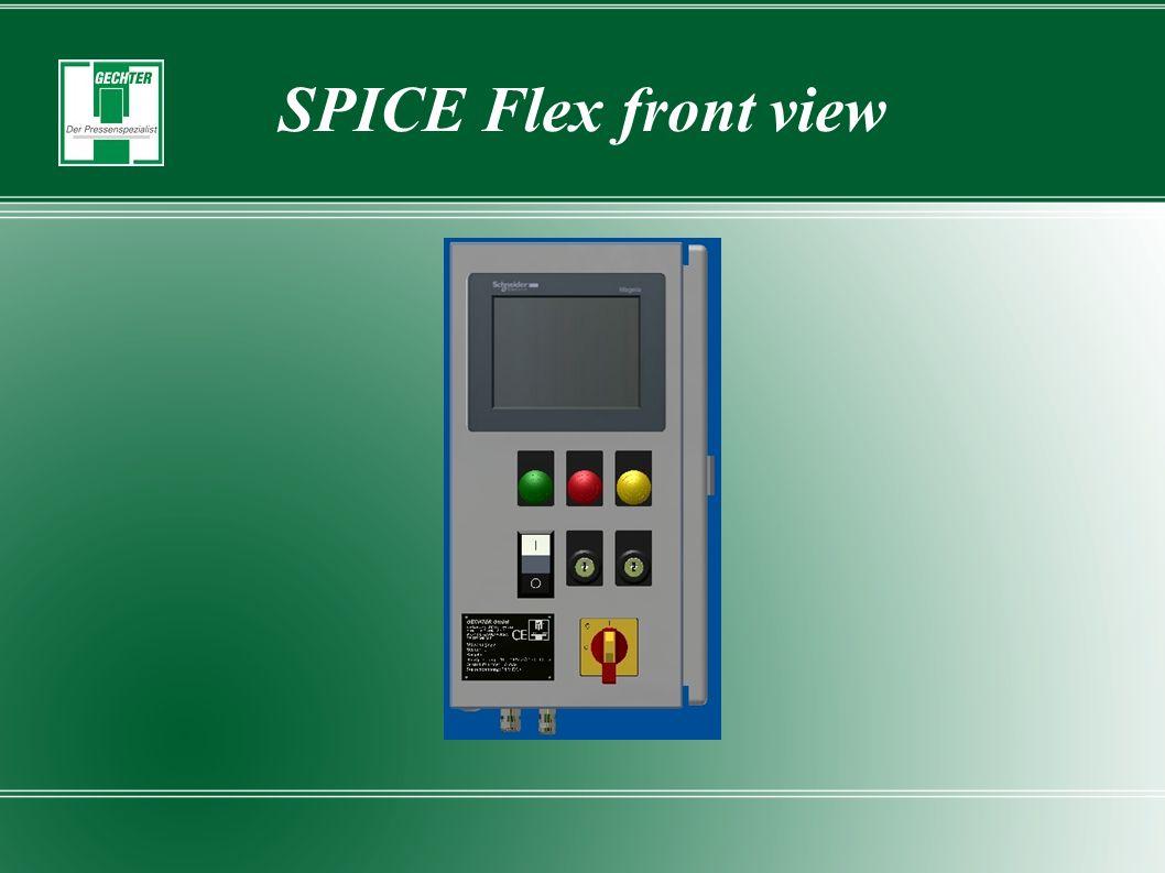 SPICE Flex front view