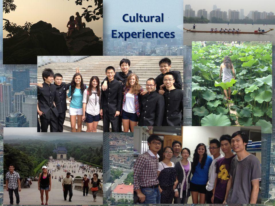 CulturalExperiences