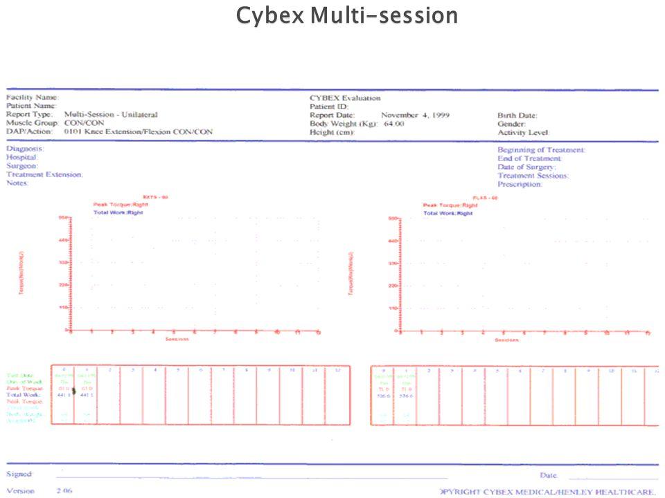 Cybex Multi-session