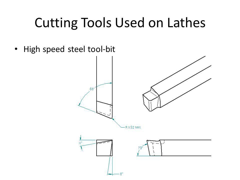Cutting Tools Used on Lathes High speed steel tool-bit