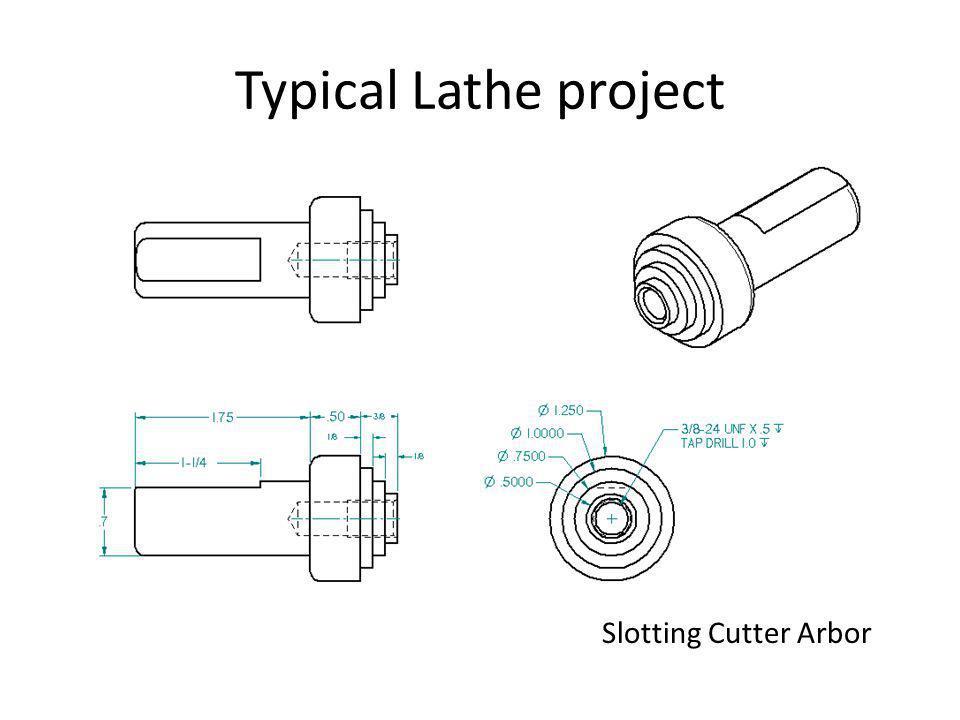Slotting Cutter Arbor